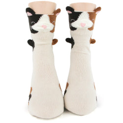 Women's 3D Cat Socks - Jilly's Socks 'n Such