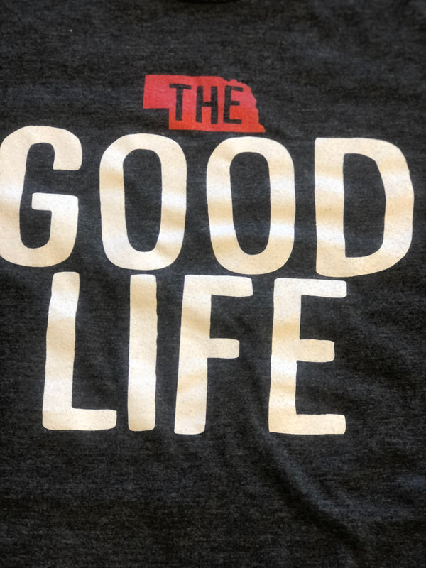 "Unisex ""The Good Life"" T-Shirt - Jilly's Socks 'n Such"