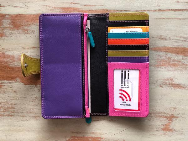 ILI Wallet - Assorted Colors - Jilly's Socks 'n Such
