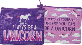 Always Be A Unicorn Coin Purse