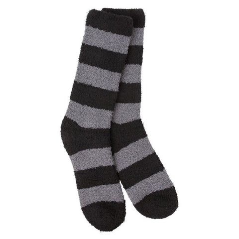 Men's Worlds Softest Socks Nightfall Stripe - Novelty Socks, Mens, Womens, Kids