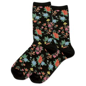 Women's Asian Flowers Socks
