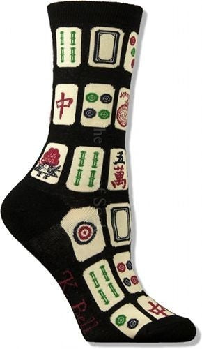 Women's MaJong Socks - Novelty Socks, Mens, Womens, Kids