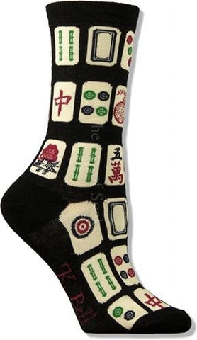 Game MaJong - Novelty Socks, Mens, Womens, Kids