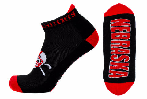 Nebraska Blackshirts Ankle Socks - One Size