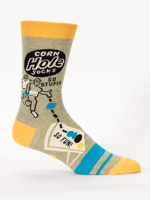 "Men's ""Corn Hole"" Socks - Novelty Socks, Mens, Womens, Kids"