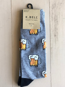 Mens Beer Mug Socks - Novelty Socks, Mens, Womens, Kids