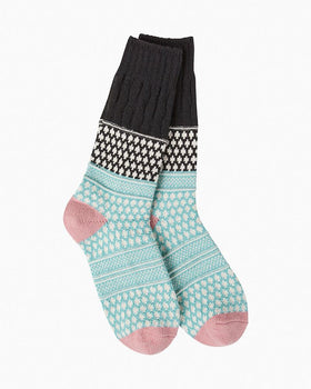 Women's Worlds Softest Socks - Winter Sky
