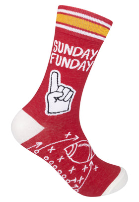 """Sunday Funday"" Socks - One Size"