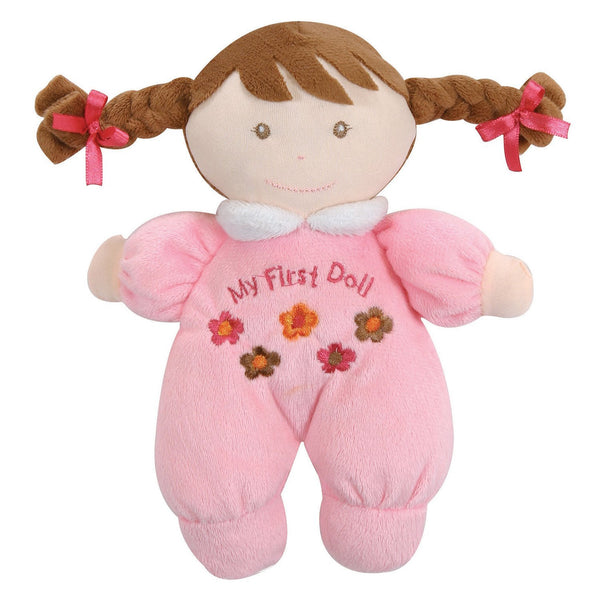 "Baby ""My First Doll"" Plush Rattle - Novelty Socks, Mens, Womens, Kids"