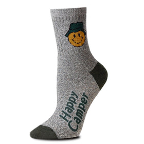 """Happy Camper"" Socks - One Size"