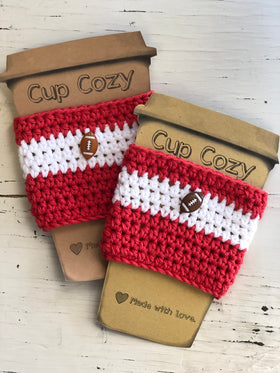 Assorted Knit Cup Cozies Gift