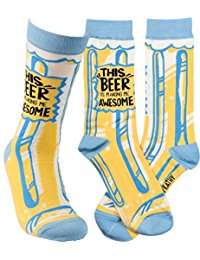"""This Beer is Awesome"" Socks - One Size - Novelty Socks, Mens, Womens, Kids"