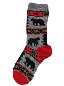 FBF-Unisex Bear Blanket - Novelty Socks, Mens, Womens, Kids