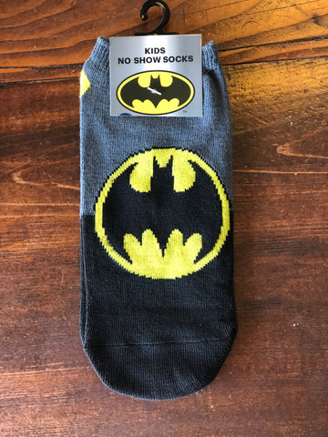 Kid's No Show Batman Socks