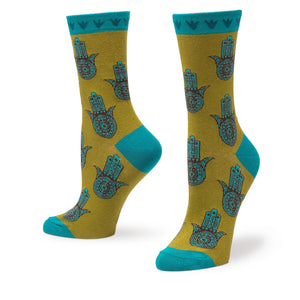 Women's Hamsa Hand Socks - Novelty Socks, Mens, Womens, Kids