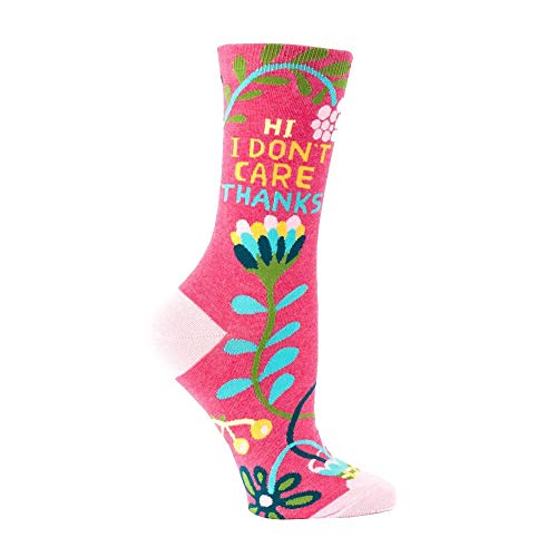 "Women's ""Hi Don't Care Thanks"" Socks - Jilly's Socks 'n Such"