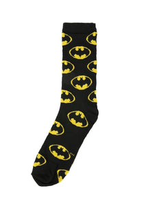 Mens Justice League Batman Socks - Novelty Socks, Mens, Womens, Kids