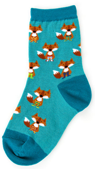 Kids-Foxy Socks - Novelty Socks, Mens, Womens, Kids