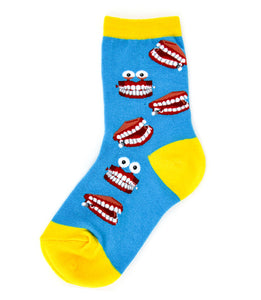 Kid's Chatter Teeth Socks - Novelty Socks, Mens, Womens, Kids