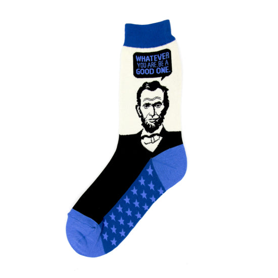 Women's Abe Lincoln Socks - Novelty Socks, Mens, Womens, Kids