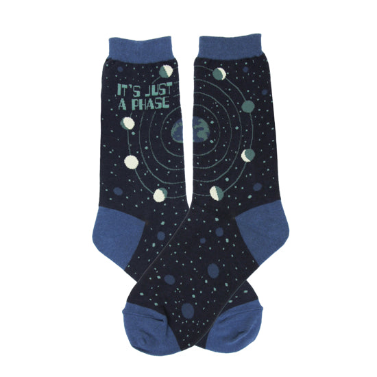 Women's Its a Phase Socks - Novelty Socks, Mens, Womens, Kids