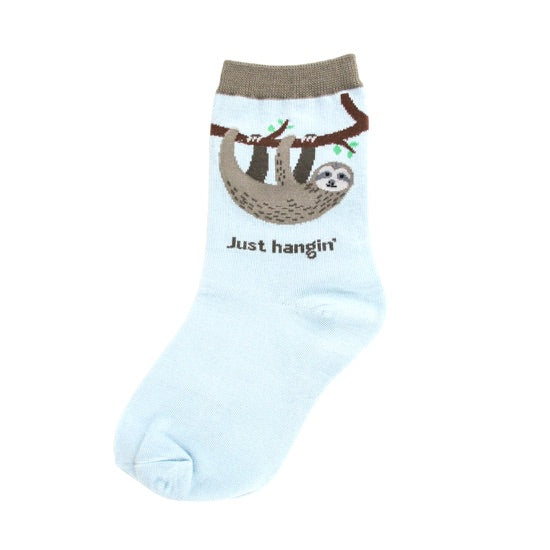 Kids-Just Hangin' Sloth Socks