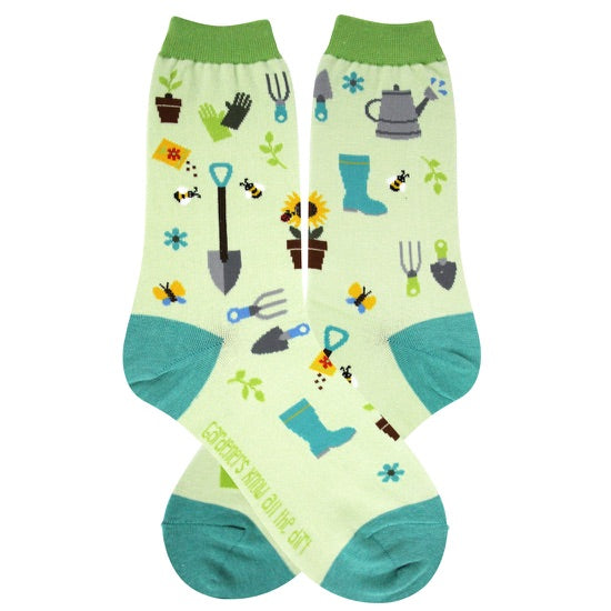Women's Garden Queen Socks - Jilly's Socks 'n Such