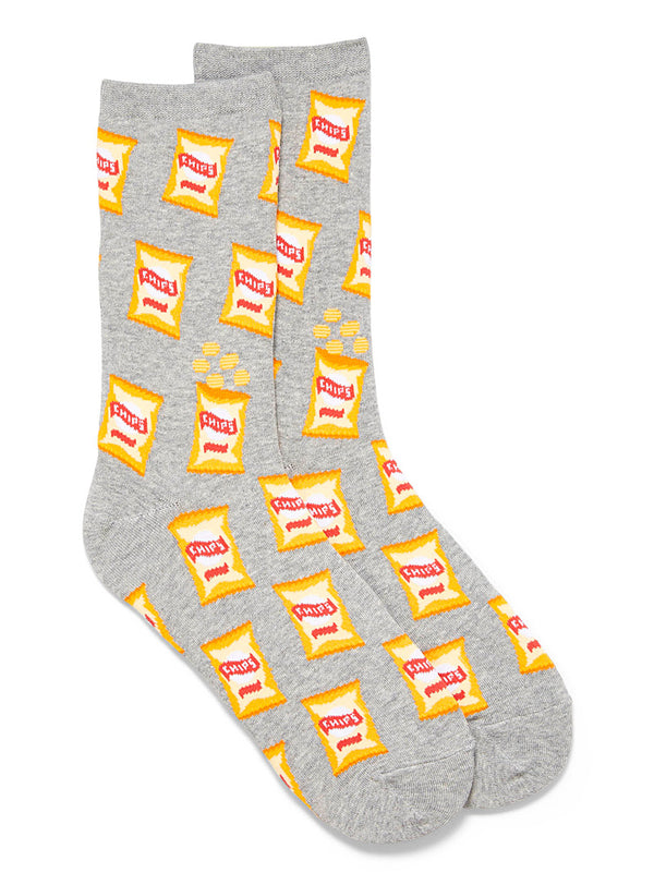 Women's Potato Chip Socks - Novelty Socks, Mens, Womens, Kids