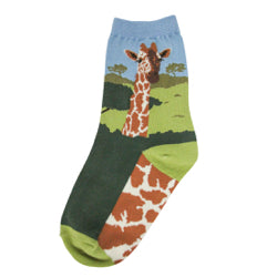 Women's Giraffe Socks - Jilly's Socks 'n Such