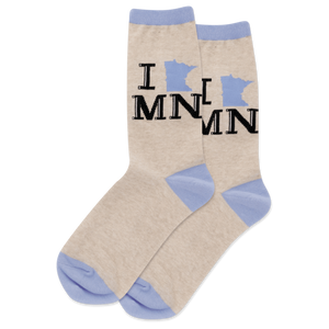 "Women's ""I Heart Minnesota"" Socks - Novelty Socks, Mens, Womens, Kids"