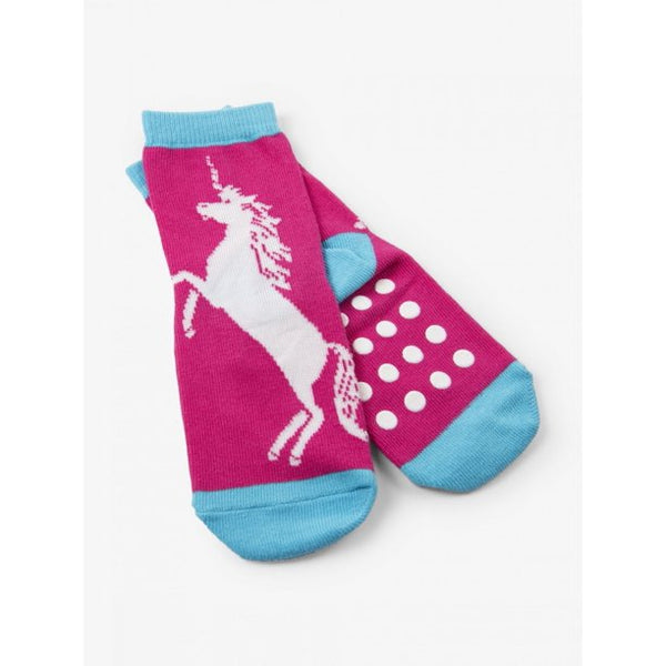 Kids Unicorn Grippy Socks - Jilly's Socks 'n Such