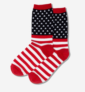 Women's American Flag USA Socks