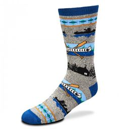 FBF- Canoe Socks One Size - Novelty Socks, Mens, Womens, Kids