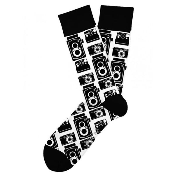 Men's Camera Snap Shot Socks - Jilly's Socks 'n Such