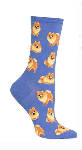 Women's Pomeranian Dog Socks - Novelty Socks, Mens, Womens, Kids