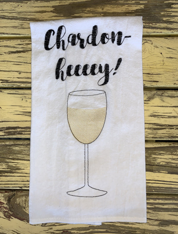 """Chardon-Heeeey"" Kitchen Towel - Novelty Socks, Mens, Womens, Kids"
