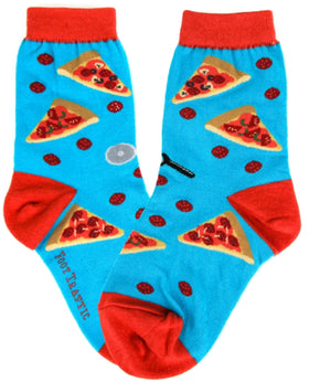 Kid's Pizza Party Socks