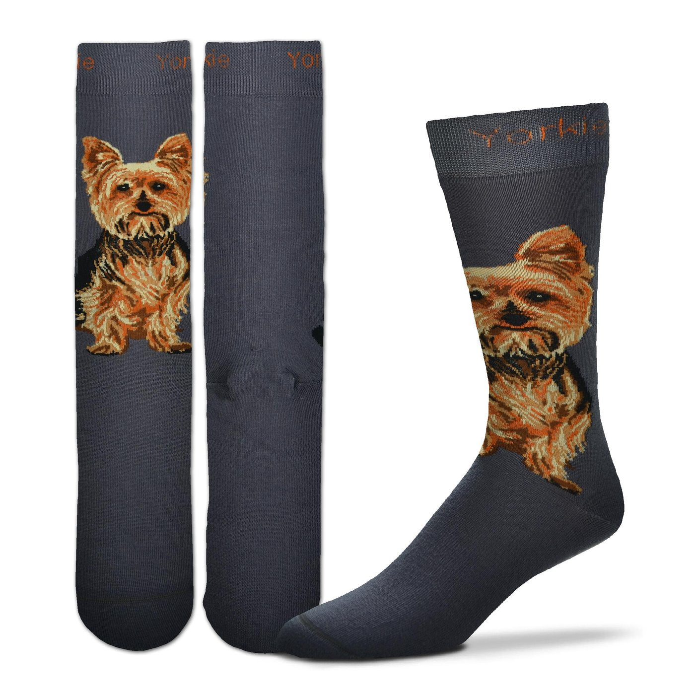 Yorkie Socks - One Size - Novelty Socks, Mens, Womens, Kids