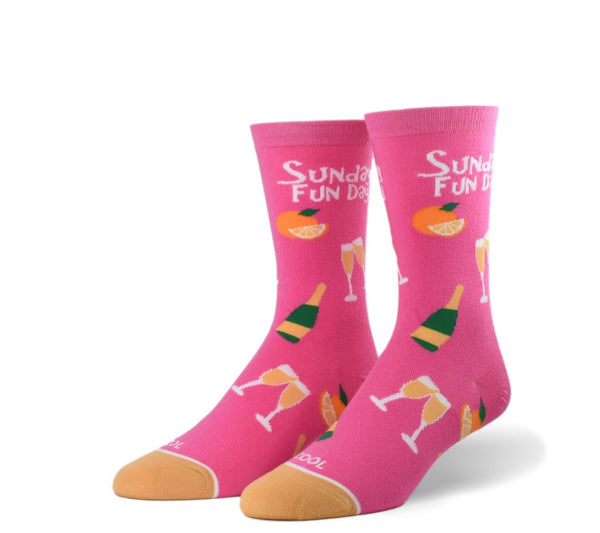 "Women's ""Sunday Funday"" Socks - Novelty Socks, Mens, Womens, Kids"