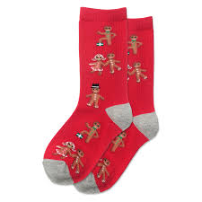 Kid's Gingerbread Socks - Novelty Socks, Mens, Womens, Kids