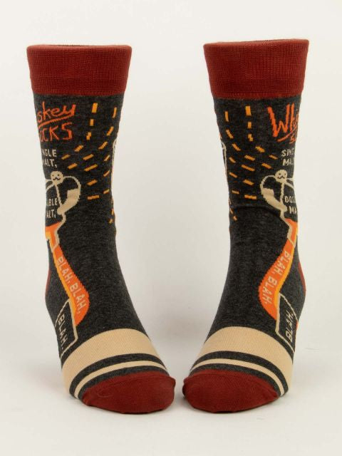 Men's Whiskey Socks - Jilly's Socks 'n Such
