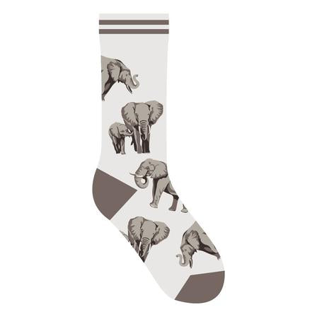 Elephant Socks - One Size - Novelty Socks, Mens, Womens, Kids