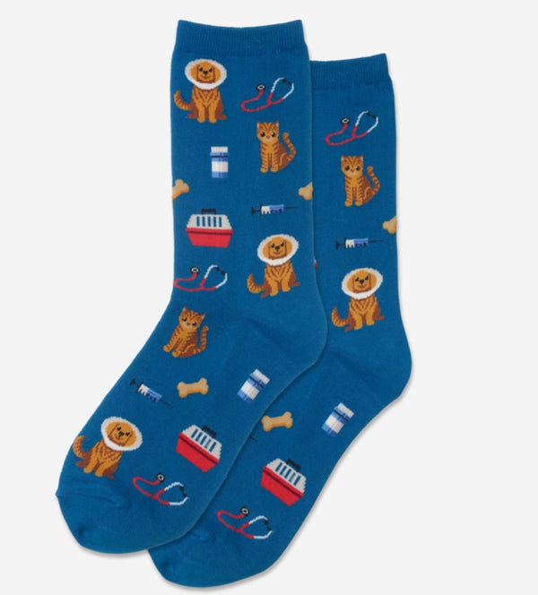 Women's Veterinarian Socks - Jilly's Socks 'n Such