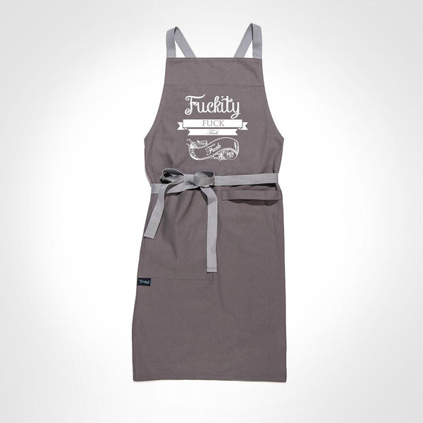 Twisted Cross-Back Apron - Jilly's Socks 'n Such