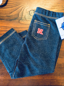 Kids- Nebraska Jean Jeggings - Novelty Socks, Mens, Womens, Kids