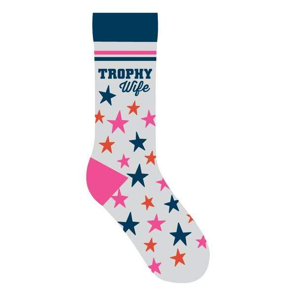 Trophy Wife Socks - One Size - Jilly's Socks 'n Such