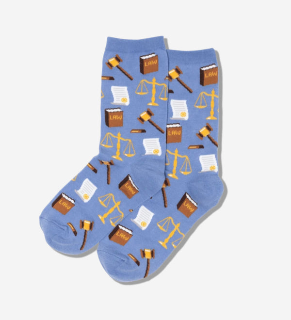 Women's Lawyer and Judge Socks - Jilly's Socks 'n Such