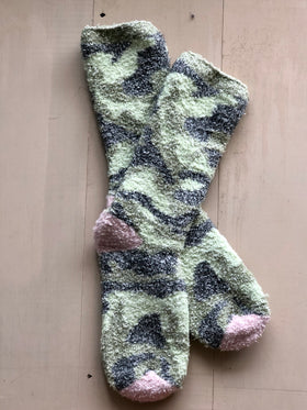 Women's Worlds Softest Socks Camo