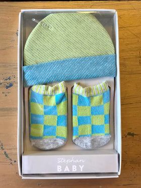 Baby Cap and Sock Set